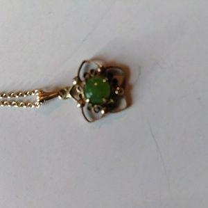 Vintage 12kgf genuine jade pendant
